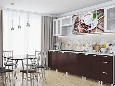 Кухня Модерн - фотопечать Кофе