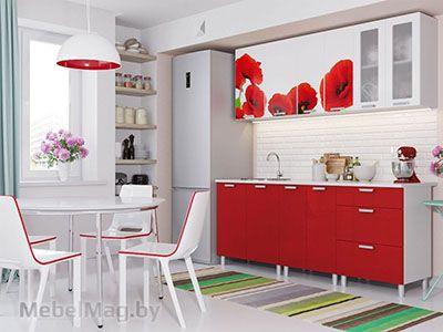 Кухня Модерн - фотопечать Маки