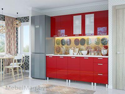 Кухня Модерн - Гранат (2,0м)