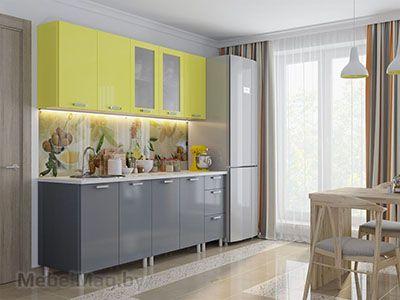 Кухня Модерн Груша/Графит (2,0м)