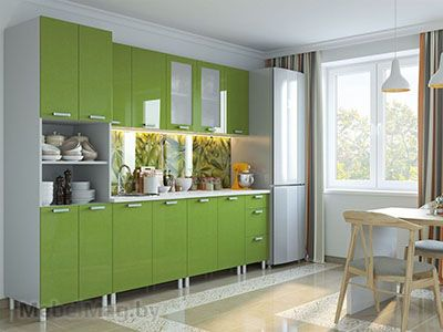 Кухня Модерн Олива - набор 3