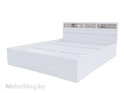 Кровать 1,6x2,0 Ясень Анкор светлый - Модульная система Николь 1