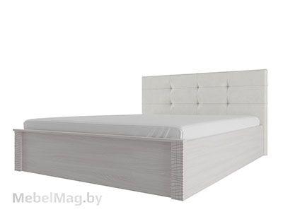 Кровать двойная унив-ая с мягк.изгол. 1,4x2 Ясень/Сандал - Гамма 20