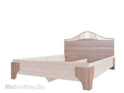 Кровать двойная 1,4x2,0 Ясень Шимо тм./Ясень Шимо св. - Лагуна 5