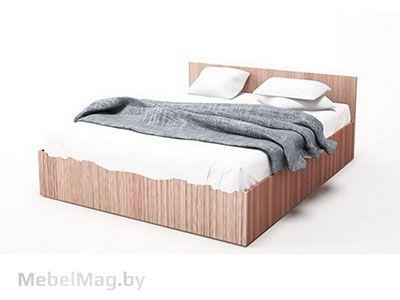 Кровать двойная 1,4x2,0 Ясень Шимо тм./Ясень Шимо св. - Эдем 5