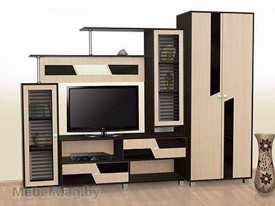 Набор мебели для гостиной Нота 9 Дуб Венге/Дуб Млечный