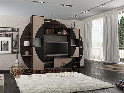 Набор мебели для гостиной Нота 17 Дуб Венге/Дуб Млечный