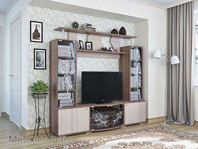 Набор мебели для гостиной Нота 23 Ясень Шимо тм./Ясень Шимо св.