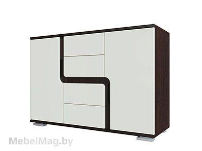 Комод Дуб Венге/Жемчуг - Коллекция Нота 25