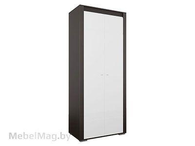 Шкаф универсальный Дуб Венге/Белый глянец - Коллекция Нота 27