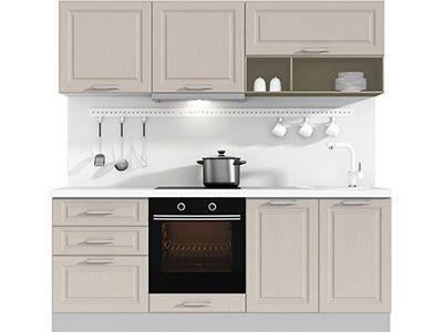 Прямая кухня Estate 2100 VKS041