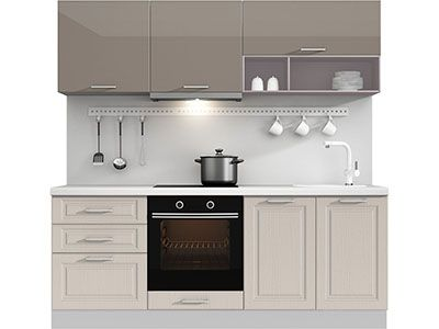 Прямая кухня Estate 2100 VKS042