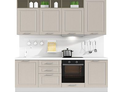 Прямая кухня Estate 2400 VKS112