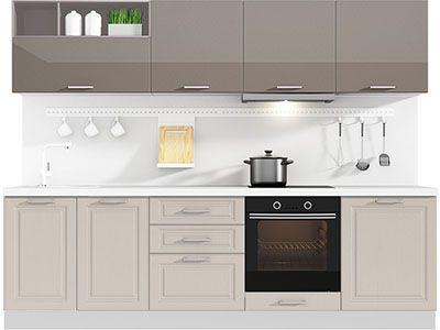 Прямая кухня Estate 2700 VKS162