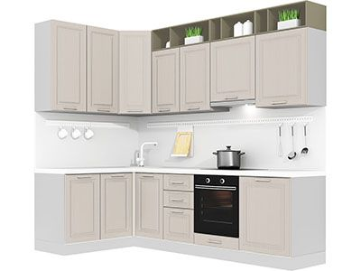 Угловая кухня Кухня Estate 1500х2700 VKS258