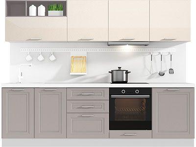 Прямая кухня Primavera 2700 VKS183