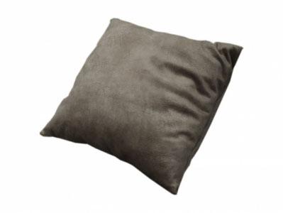 Подушка декоративная 0,45x0,45 м Коричневый однотонный