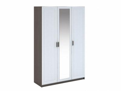 Шкаф 3-х створчатый ШК-903 Белое дерево - Спальня Прага