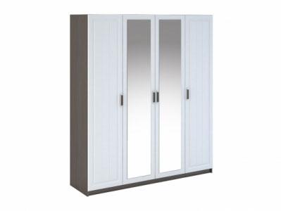 Шкаф 4-х створчатый ШК-904 Белое дерево - Спальня Прага