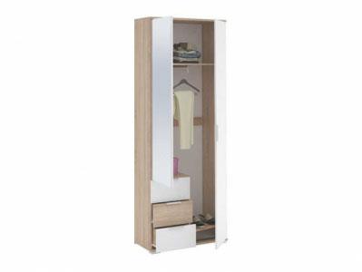 Шкаф 2-х створчатый с ящиками ШК-822 Дуб сонома - Коллекция Терра