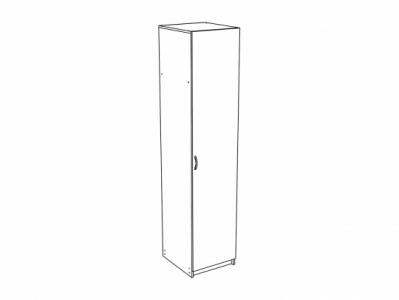 Шкаф 1-створчатый ШК-911 Дуб белёный - Спальня Эльза