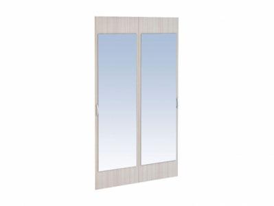 Комплект 2-х фасадов с зеркалом Ф-2З Ясень шимо св. - Грета