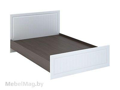 Кровать КР-900 Белое дерево/Венге - Спальня Прага