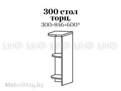 Стол 300 торц. - Кухня Санкт-Петербург