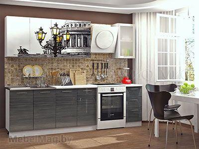 Кухня Техно (Титан) вид 8