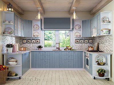 Кухня Техно-1 вид 4