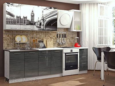 Кухня Техно (Титан) вид 9