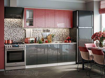 Кухня Техно (Титан) вид 11