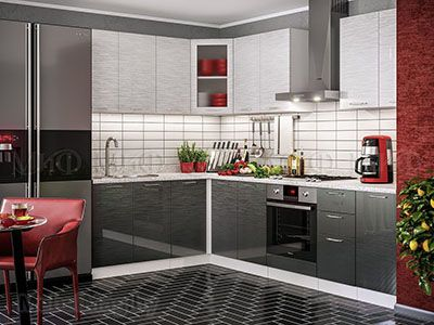 Кухня Техно (Титан) вид 10