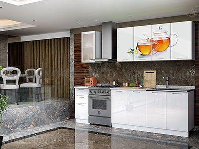 Кухня Техно (белый) вид 28