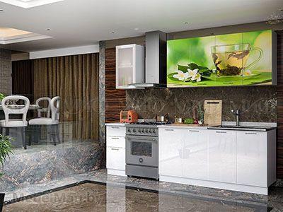 Кухня Техно (белый) вид 29