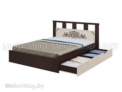 Кровать с ящиками - Жасмин