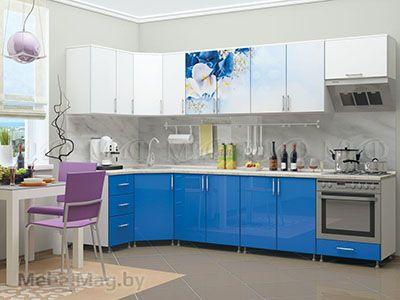 Кухня Лазурь вид 1