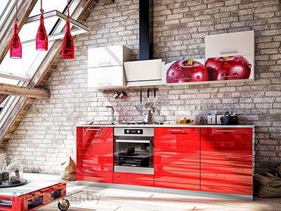 Кухня Вишня New вид 1