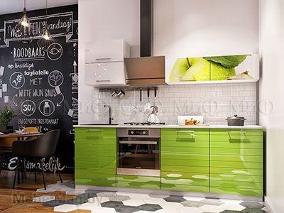 Кухня Яблоко New вид 1