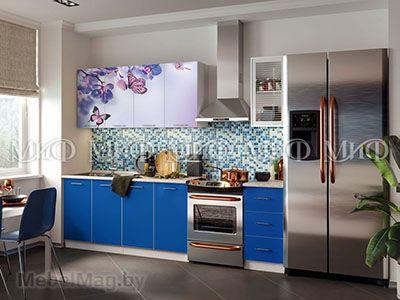 Кухня Фортуна (синяя) вид 4