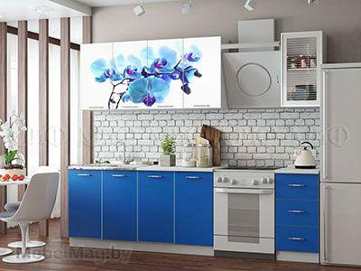 Кухня Фортуна (синяя) вид 6