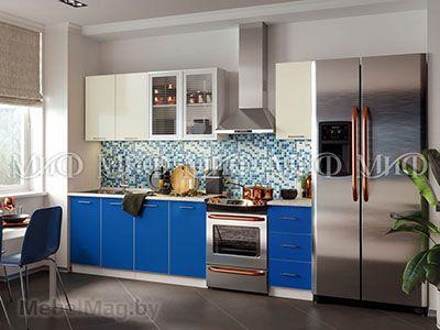 Кухня Фортуна (синяя) вид 7