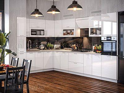 Кухня Техно (белый) вид 27