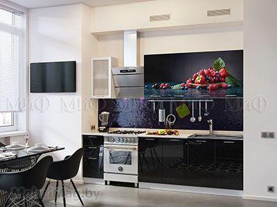 Кухня Техно (черный) вид 32