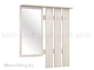 Зеркало с вешалкой Сандал Светлый - Белла