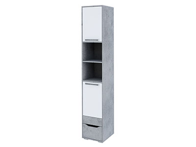 Пенал с ящиком (без фотопечати) Цемент св./Белый - Грей