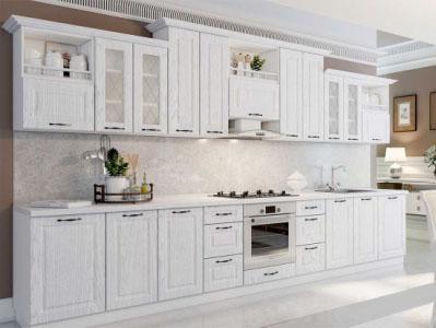 Кухня Грейвуд - Дуб Кремовый матовый (4,0м) 912