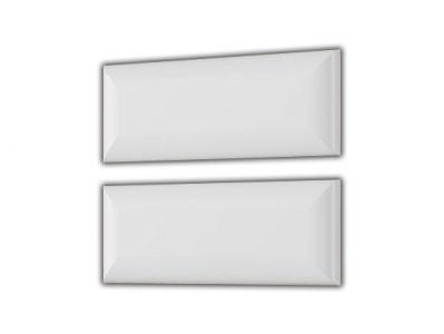 Комплект накладок для тумбы прикр. со щитом Белый матовый - Лагуна 8