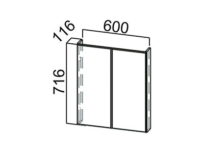 Модуль под стиральную машину 600 МС600 Серый / Классика / Тиковое дерево