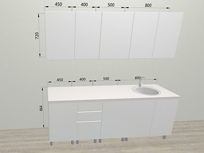 Кухня Лофт (2,15м)